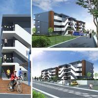 (仮称)カレッジヒルズA・B・C・D棟新築工事のサムネイル